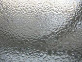 Window glass and water drops — Stock Photo