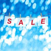 Vánoční prodej — Stock fotografie