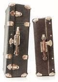 Dva staré kufr — Stock fotografie