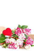 Bouquet of beautiful roses. — Stock Photo