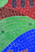 Vertical multi color mosaic bacground — Stock Photo