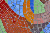 Abstract multi color mosaic background — Stock Photo