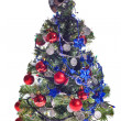 Christmas tree with decoration — Stock Photo #6414839