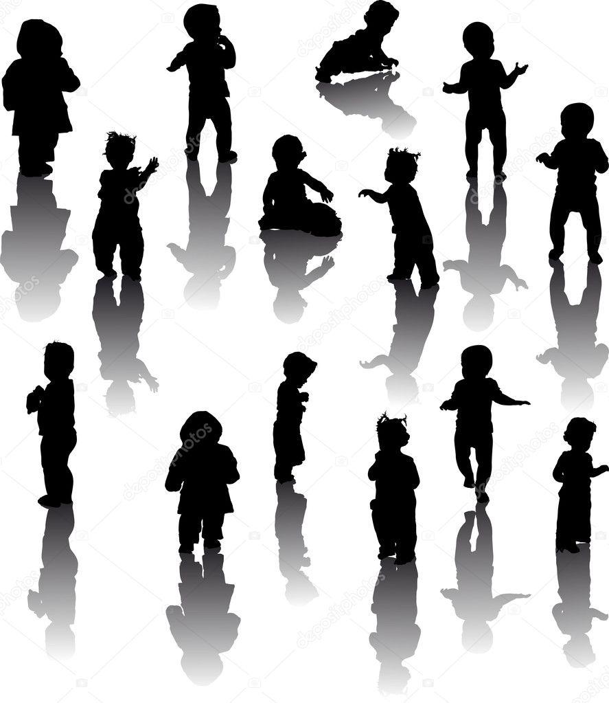 十四个孩子剪影与思考