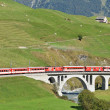 SWITZERLAND - SEP 16: Glacier Express of Matterhorn-Gotthard rai — Stock Photo #20816283