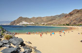Teresitas beach. Tenerife island, Canaries — Stock Photo