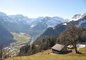 Braunwald, Switzerland — Stockfoto