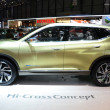 GENEVA - MARCH 12: Nissan Hi-Cross Concept at 82nd International — Stock Photo #20838293