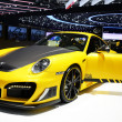 2012 GENEVA - MARCH 12: TechArt Porsche 991 Carrera S on display — Stock Photo #20838833