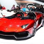 GENEVA - MARCH 12: Mansory Lamborghini Aventador on display at 8 — Stock Photo #20839441