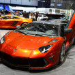 Stock Photo: GENEVA - MARCH 12: Mansory McLaren MP4-12C on display at 82nd In