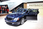 GENEVA - MARCH 12: Maybach 57S at 82nd International Motor Show — Stok fotoğraf