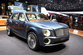 GENEVA - MARCH 12: Bentley EXP-9 world's only W12 SUV on display — Foto Stock