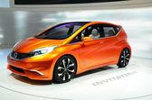 Ženeva - 12. března: Nissan pozvání koncepce na 82 mezinárodní — Stock fotografie