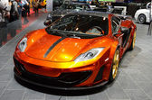 GENEVA - MARCH 12: Mansory McLaren MP4-12C on display at 82nd In — Stock Photo