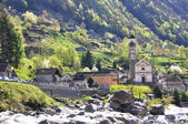 Verzasca valley, Switzerland — Stock Photo