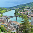 Stock Photo: Rhine river in Schaffhausen, Switzerland