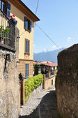 Menaggio town at famous Italian lake Como — Stock Photo