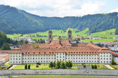 Benedictine Abbey of Einsiedeln, Switzerland — Stockfoto