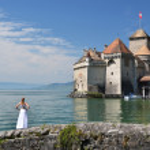 Chillion castle, Switzerland — Stock Photo