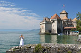 Chillion castle, Switzerland — Stock Photo