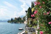 View to the lake Como from villa Monastero. Italy — Stock Photo