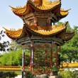 Chinese garden in Zurich — Stock Photo