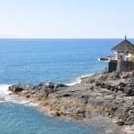 Ocean side restaurant. Tenerife, Canaries — Stock Photo #20908547