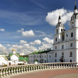 Cathedral of Holy Spirit in Minsk. Main Orthodox church of Belar — Stock Photo