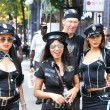 ZURICH - AUGUST 13: 20th Street Parade in Zurich. Three Thai gir — Stock Photo #20937787