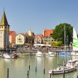 Port of Lindau island, Germany — Stock Photo