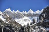 Mountain ridge in Elm region, Switzerland — Stock Photo
