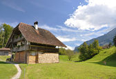 Swiss country house — Stock Photo