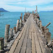 Pathway to the sea. Langkawi, Malaysia   — Stock Photo