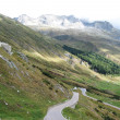 Famous St. Gotthard pass, Switzerland - Stockfoto