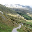 Famous St. Gotthard pass, Switzerland - Stock fotografie