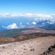 Stock Photo: View from top of Teide volcano, Tenerife island, Canaries