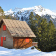 Stock Photo: Alpine scenery