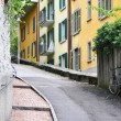 Old street in Lucerne, Switzerland - Stock Photo