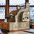Vintage cash register in old pharmacy — Stock Photo #21007345