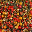 Decorated Cristmas tree — Stockfoto