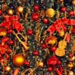 Stock Photo: Decorated Cristmas tree