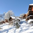 Braunwald, famous Swiss skiing resort — Stock Photo