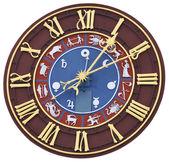 Zodiacal clock — Stock Photo
