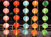 Lanternas chinesas — Fotografia Stock