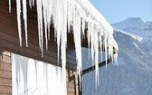 Majestuosa vista alpina. suiza — Foto de Stock