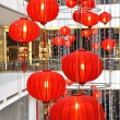 Shopping mall decorated with lanterns for Chinese New Year — Stock Photo #21010411