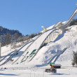 Skiflying facilities — Stock Photo