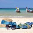 Beach scene. Phuket island, Thailand — Stock Photo