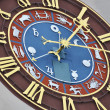 Ancient zodiacal clock — Stock Photo #21016237